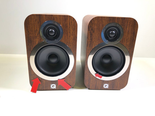 Deuxième Chance Q Acoustics 3020i Noyer (par deux)