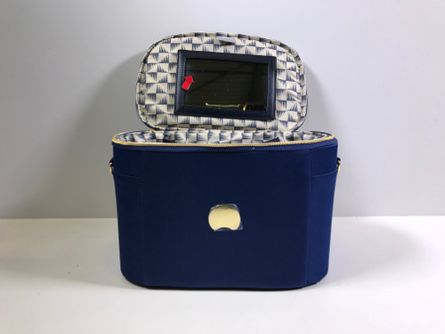 Tweedekans Delsey Montrouge Beautycase Blue