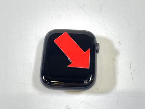 Deuxième Chance Apple Watch Series 5 44 mm Aluminium Gris sidéral Bracelet Sport Noir