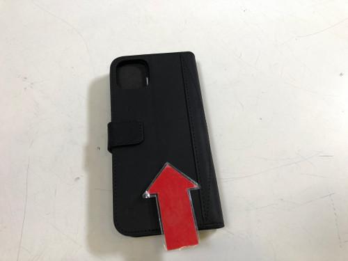 Deuxième Chance Decoded Book Case 2-en-1 Apple iPhone 11 Pro Max Cuir Noir