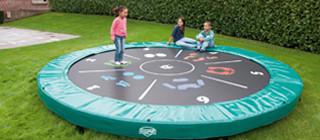 Ingraven trampoline
