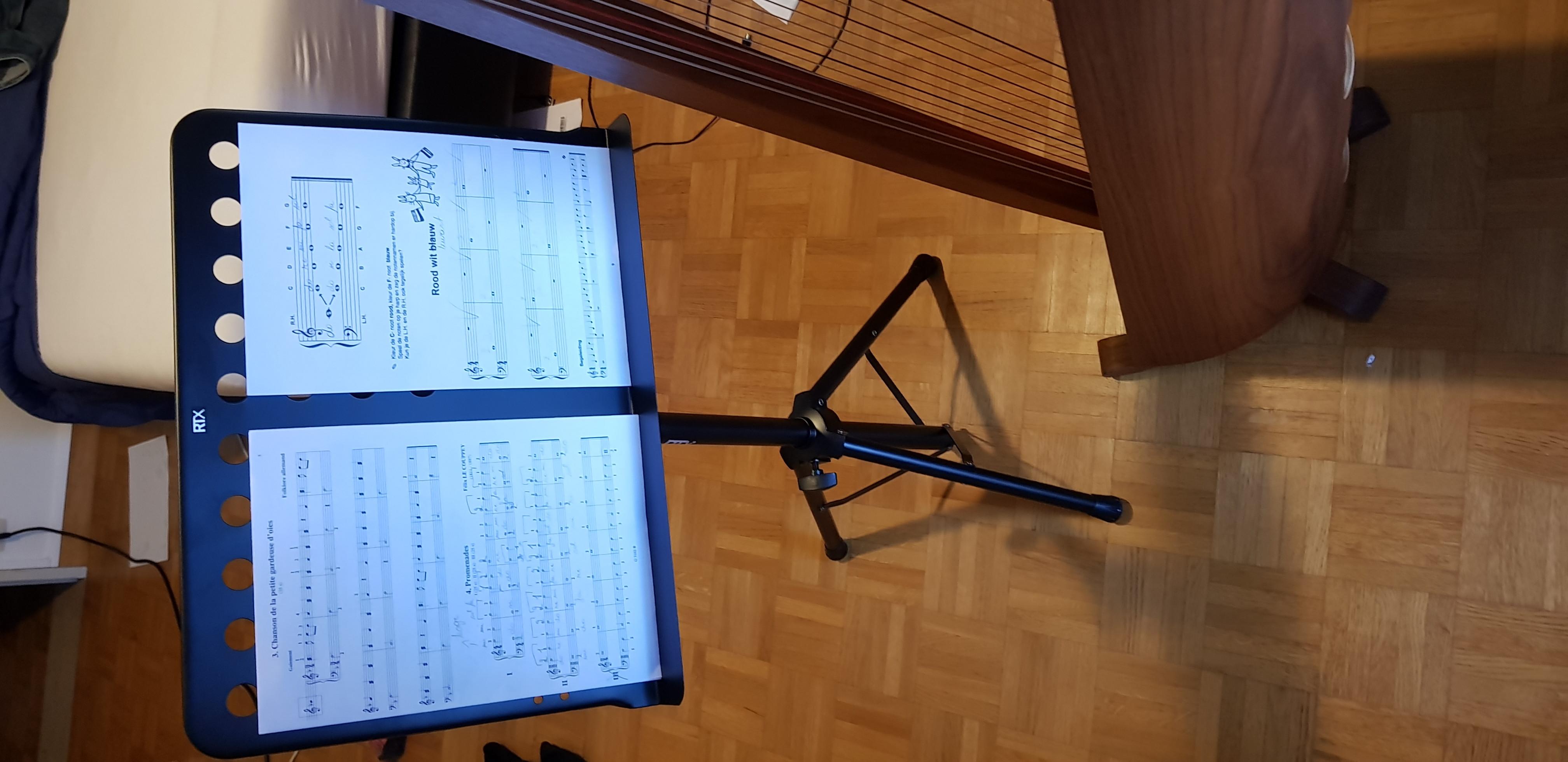 RTX PUMX Pupiter Bladmuziekstandaard