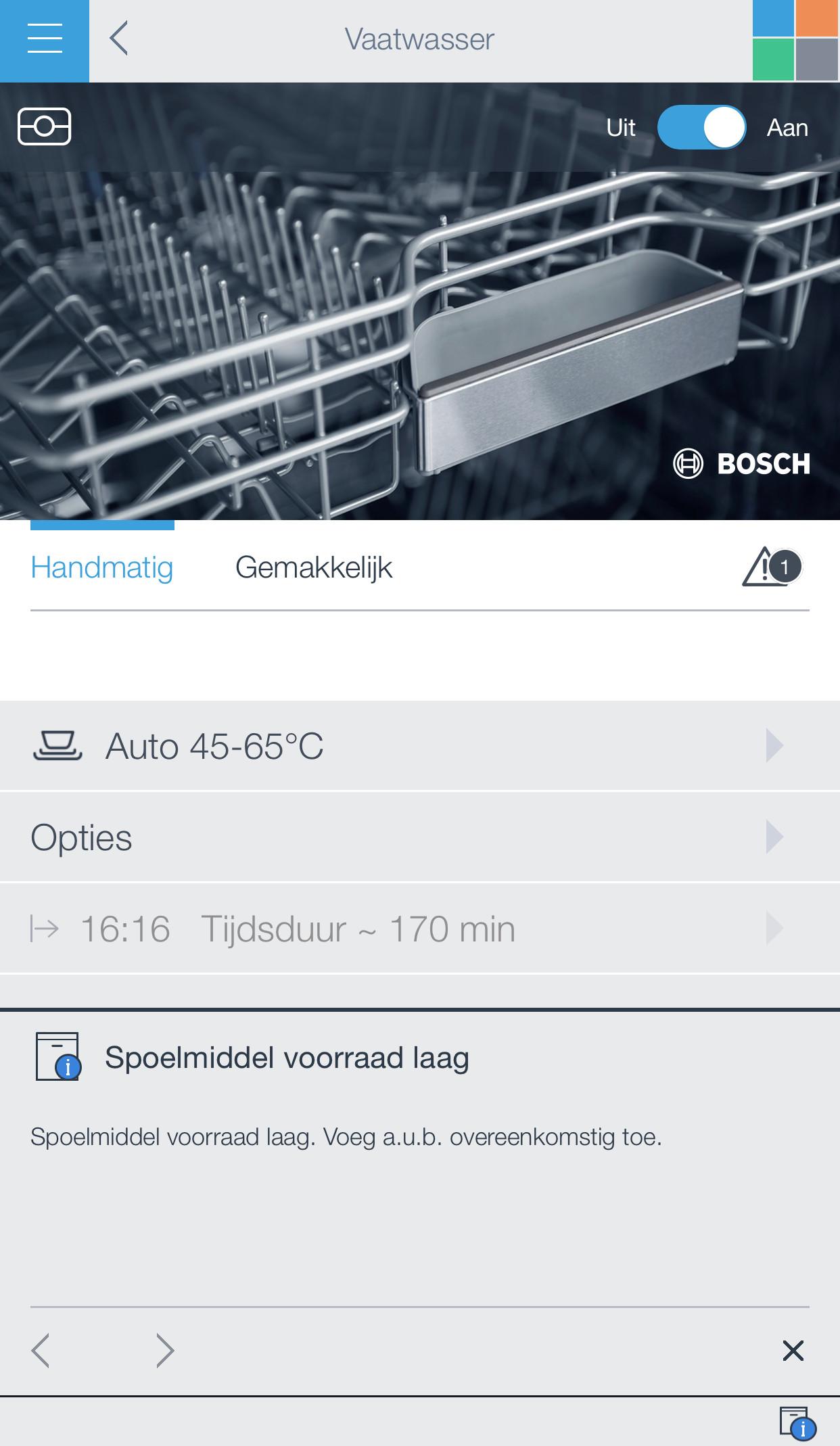 Bosch SMI88TS46E / Inbouw / Half geintegreerd / Nishoogte 81,5 - 87,5 cm