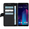 Azuri Étui Portefeuille magnétique HTC U11 Plus Noir