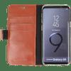 Valenta Booklet Classic Luxury Galaxy S9 Book Case Brown