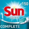 Sun tablettes pour lave-vaisselle All-in-1 Normal - 150 pièces