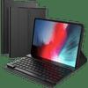 Just in Case Premium Bluetooth Keyboard Apple iPad Pro 11 Inch (2018) Book Case Black