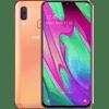 Samsung Galaxy A40 64 Go Orange