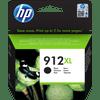 HP 912XL Cartridge Zwart