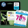 HP 951 Officejet Cartouche Jaune XL (CN048AE)