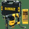 DeWalt D25333K-QS + 4-delige SDS-plus hamerborenset