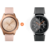 Samsung Galaxy Watch 42 mm Or Rose + PanzerGlass Galaxy Watch 42 mm Protège-écran