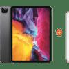 Apple iPad Pro (2020) 11 inch 256 GB Wifi Space Gray + Pencil 2