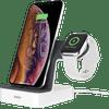 Belkin PowerHouse Station d'Accueil iPhone + Apple Watch Blanc