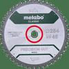 Metabo Zaagblad Precision Cut Wood 254x30x1,8mm 48 T