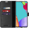 Valenta Gel Skin Samsung Galaxy A52 Book Case Zwart