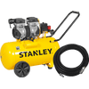 Stanley SXCMS1350HE Silent + ABAC Luchtslang 10m