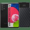 Samsung Galaxy A52s 128GB Zwart 5G  + Samsung S View Book Case Zwart