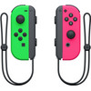 Nintendo Switch Set Joy-Con Splatoon Vert/Rose