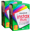 Fujifilm Instax Mini Colorfilm Glossy 10x2 Pak Duo Pack