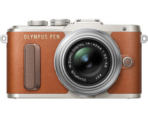 Olympus PEN E-PL8 Brown + 14-42mm EZ