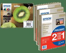 Epson 202XL 5 couleurs + papier photo