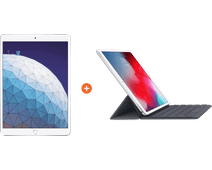 "Apple iPad Air (2019) 10,5"" Argent 64 Go Wi-Fi + Smart Keyboard AZERTY"