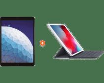 "Apple iPad Air (2019) 10,5"" Gris sidéral 64 Go Wi-Fi + 4G + Smart Keyboard AZERTY"