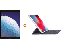 "Apple iPad Air (2019) 10,5"" Gris sidéral 256 Go Wi-Fi + Smart Keyboard AZERTY"