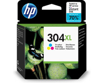 HP 304XL Cartridge 3-Color Pack (N9K07AE)