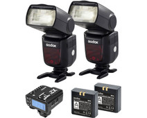 Godox Speedlite V860II Sony Duo X2 Trigger Kit