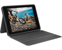 Logitech Rugged Folio Apple iPad (2019) Toetsenbord Hoes AZERTY