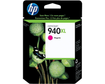 HP 940 Magenta XL Ink Cartridge (red) C4908A