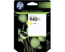 HP 940 Yellow XL Ink Cartridge (yellow) C4909A