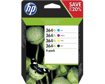 HP 364XL Combo Pack 4 Colors (N9J74AE)