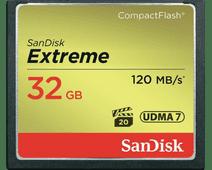 Sandisk CF Extreme 32GB 120mb/s