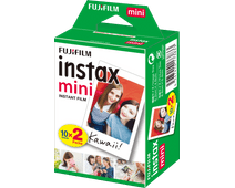 Fujifilm Instax Mini Colorfilm Glossy 10x2 pack