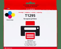 Pixeljet T1295 Lot de 4 couleurs pour imprimantes Epson (C13T12954010)