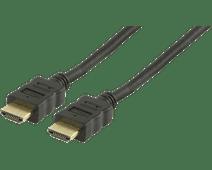 Veripart câble HDMI Plaqué Or 3 mètres