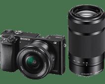 Sony Alpha A6000 Noir + PZ 16-50 mm OSS + E 55-210 mm