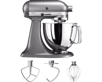KitchenAid Robot pâtissier Artisan 5KSM125 Gris Argent