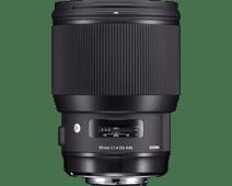Sigma 85 mm f/1.4 DG HSM ART Canon