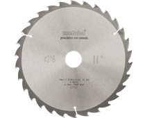 Metabo Zaagblad 216X30X2,4mm 30T