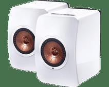 KEF LS50 Sans fil Blanc (par deux)
