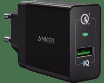 Anker PowerPort+1 Chargeur sans Câble 18 W Quick Charge 3.0 Noir