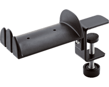 K&M 16090 Hoofdtelefoonstandaard Zwart