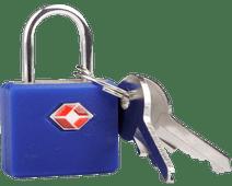 Travel Blue Serrure TSA Identity Bleue