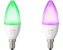 Philips Hue White and Color E14 Duo Pack