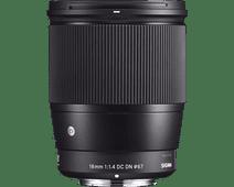 Sigma 16mm f/1.4 DC DN Contemporary E Mount
