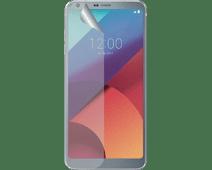 Azuri LG Q6 Screenprotector Plastic Duo Pack